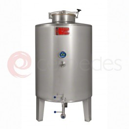 Standard ST/ST tanks AISI 316 (400 to 2.500 Litres)