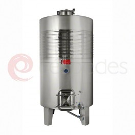 Standard ST/ST tanks AISI 316 (3.000 Litres and larger tanks)