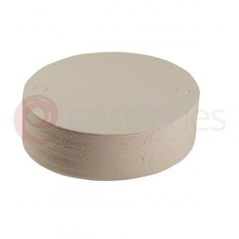 Round filtering plates