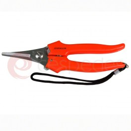 Stainless steel vintage scissors, straight blade