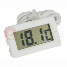 Digital white thermometer