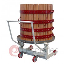 Supplementary trolley for hydraulic crusher