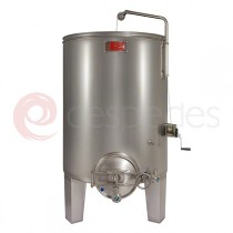 Self-emptying alwaysfull tanks in AISI 316  (1.000 to 20.000 L)