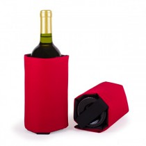 Wine cooling sleeve - Red