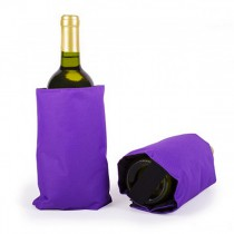 Wine cooling sleeve - Purple