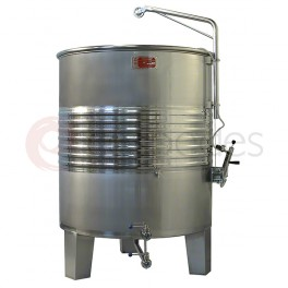 Always-full tanks in ST/ST AISI 316 (400 to 20.000 Litres)