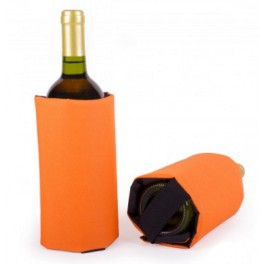 Wine cooling sleeve - Orange