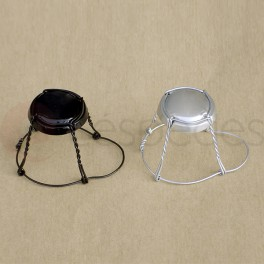 Wire cages  for champagne bottles (100 units)