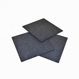 Active charcoal filter plate 20 x 20 cm