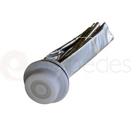 Food grade aluminium bag with Type A head