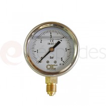 Manometer for filter plates 40 x 40 cm