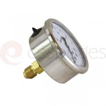 Manometer for filter plates 20 x 20 cm