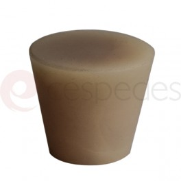 Standard brown Conical silicone stopper M-8106