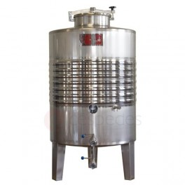 Standard ST/ST tanks AISI 316 (1.000 to 2.500 Litres) with cooli